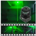 LHF50G Fat-Beam DMX Mini Moving-Head laser Light