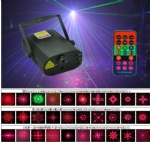 L6320RGB 300mW RGB RC 30-Gobos mini LED-Laser light