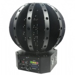 LMB72RGB 72 lens Endless Spinning Beam-Storm Magic LaserBall