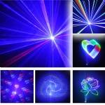 L4D1WRGB 4-IN-1 ILDA Animation Laser Light