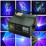 Transformer 1W RGB 15KPPS ILDA Animation Laser Light
